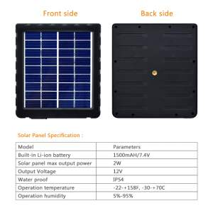 D2K Solar Charger 2